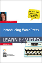 Introducing WordPress - Learn By Video cover