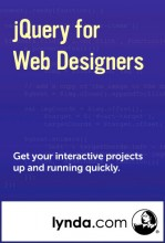 jQuery for Web Designers cover